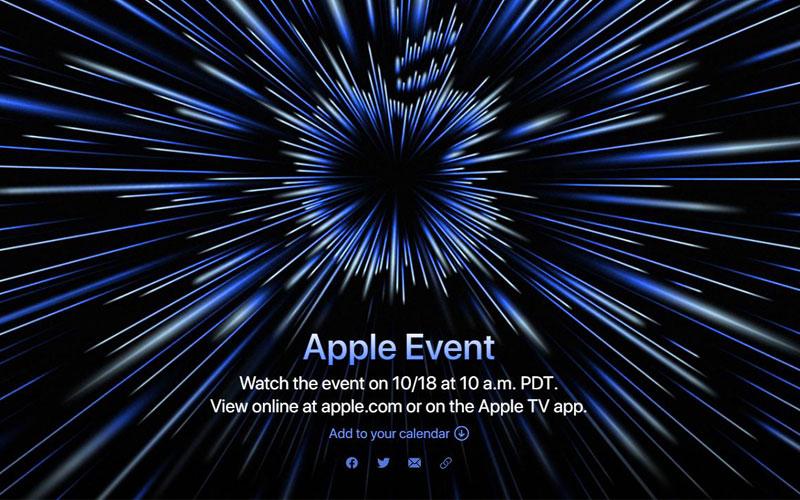 ลุ้นเปิดตัว MacBook M1X! ในงาน Apple Event รอบพิเศษ 18 ตุลาคมนี้