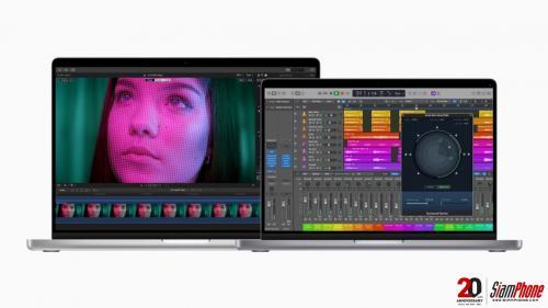 Final Cut Pro และ Logic Pro อัปเดตใหม่ ไม่เคยมีมาก่อนบน MacBook Pro
